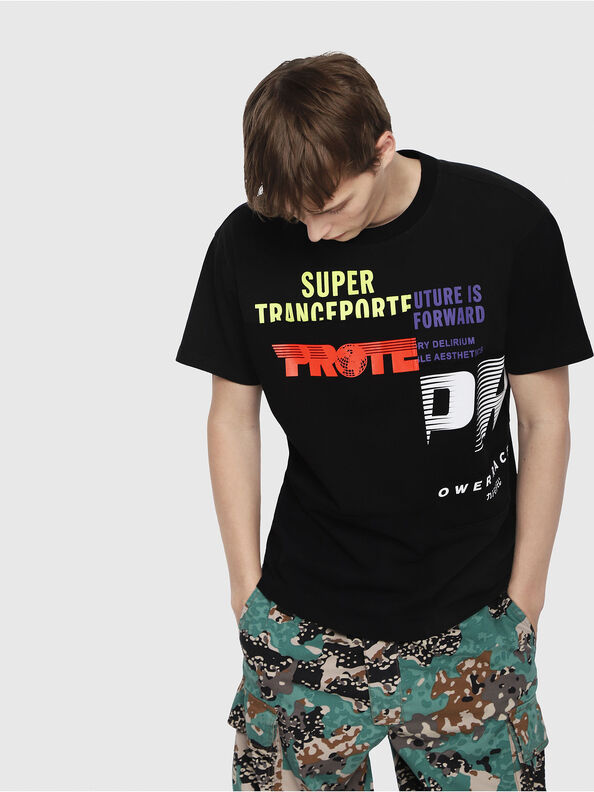 T-WALLACE-CUT,  - T-Shirts