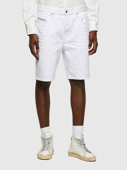 Diesel - D-STRUKT-SHORT, Bianco - Shorts - Image 1