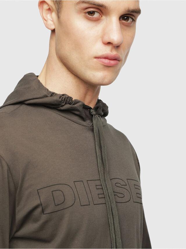 Diesel - UMLT-JIMMY, Verde Militare - T-Shirts - Image 3