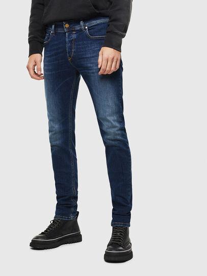 Diesel - Sleenker 086AJ, Blu medio - Jeans - Image 1