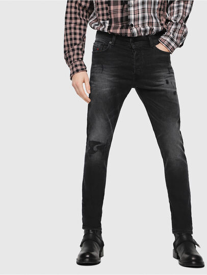 Diesel - Tepphar C69DW, Nero/Grigio scuro - Jeans - Image 1