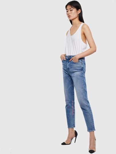 Diesel - D-Eiselle 0096X, Blu medio - Jeans - Image 5