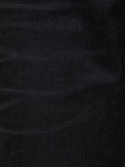 Diesel - D-Strukt 0091I, Nero/Grigio scuro - Jeans - Image 5