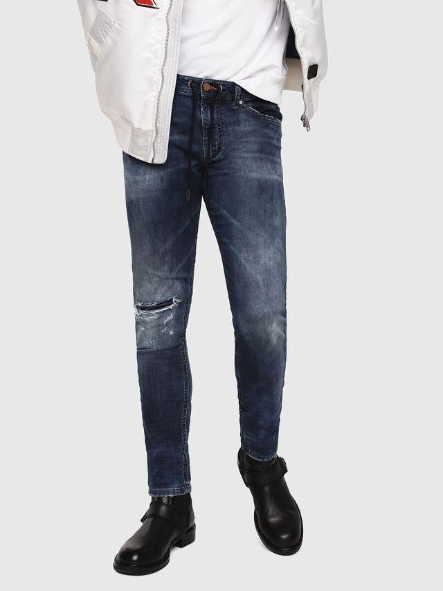 Diesel - Thommer JoggJeans 069AA, Blu Scuro - Jeans - Image 1