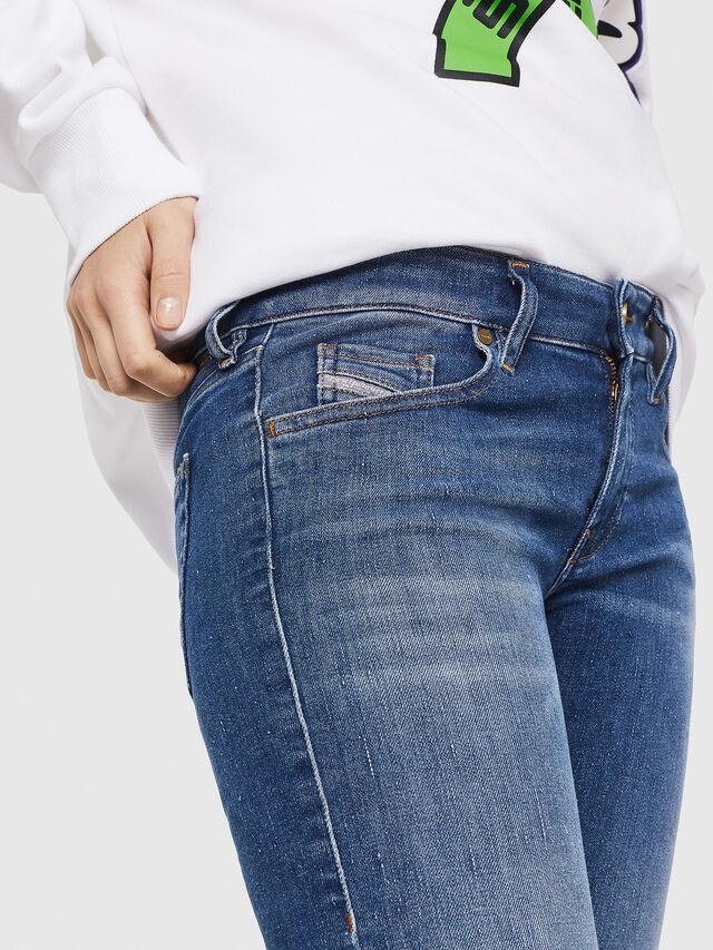 Diesel - Slandy Low 088AU, Blu medio - Jeans - Image 3
