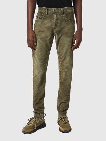 Diesel - D-Strukt 069XQ, Verde Militare - Jeans - Image 1