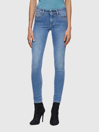 Diesel - Slandy 009ZY, Blu Chiaro - Jeans - Image 1