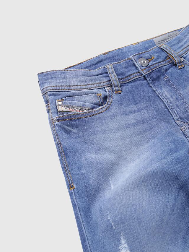 Diesel - SLEENKER-J-N, Blu Chiaro - Jeans - Image 3