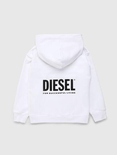 Diesel - LR SGIRKHOOD VIC, Bianco - Felpe - Image 2