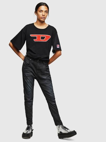 Diesel - Fayza JoggJeans 069GP, Nero/Grigio scuro - Jeans - Image 5