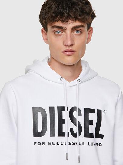 Diesel - S-GIRK-HOOD-ECOLOGO, Bianco - Felpe - Image 3