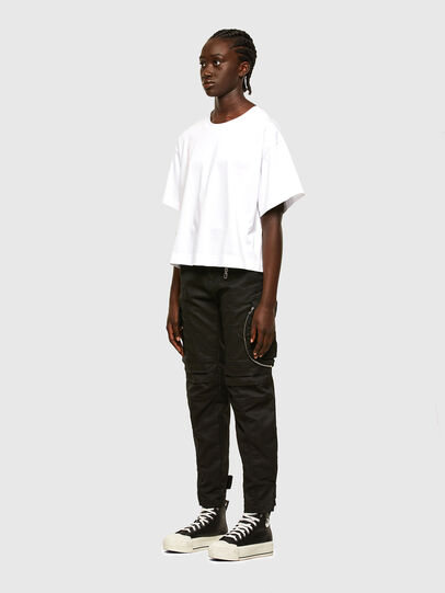 Diesel - T-BOWLESS, Bianco - T-Shirts - Image 6
