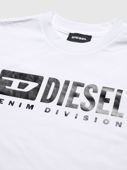 Diesel - TJDIVISION, Bianco - T-shirts e Tops - Image 3