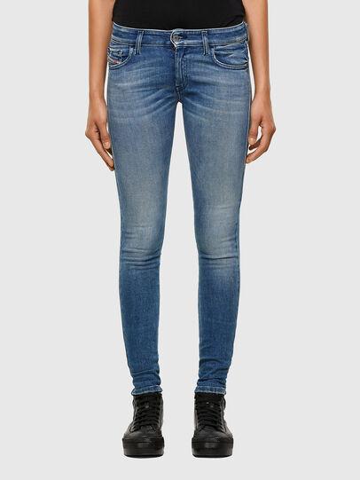 Diesel - Slandy Low 009JI, Blu Chiaro - Jeans - Image 1