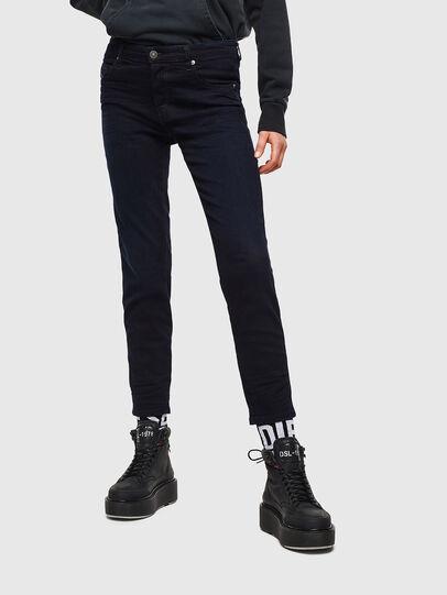 Diesel - Babhila 0095X, Blu Scuro - Jeans - Image 1