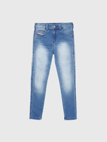 Diesel - D-SLANDY-HIGH-J JOGGJEANS, Blu Chiaro - Jeans - Image 1