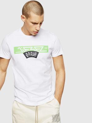 T-DIEGO-A1, Bianco - T-Shirts