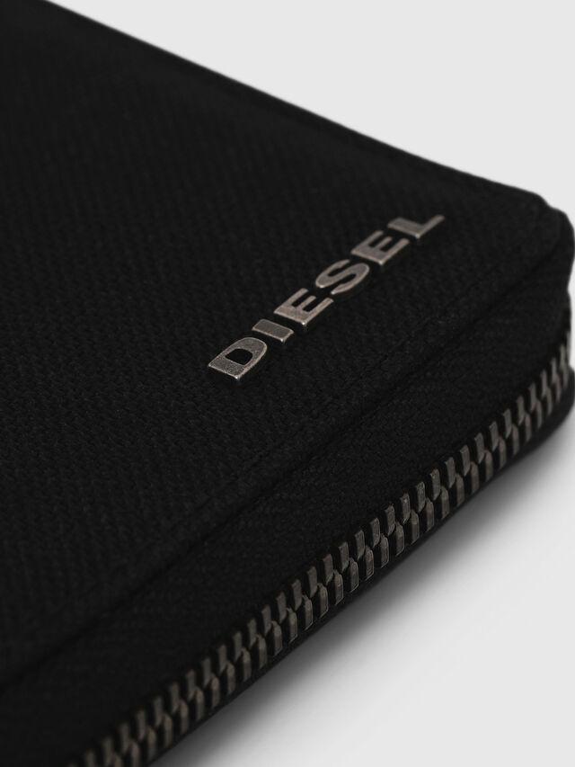 Diesel - ZIPPY HIRESH S, Blu Scuro - Portafogli Con Zip - Image 4