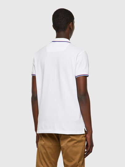 Diesel - T-RANDY-NEW, Bianco - Polo - Image 2