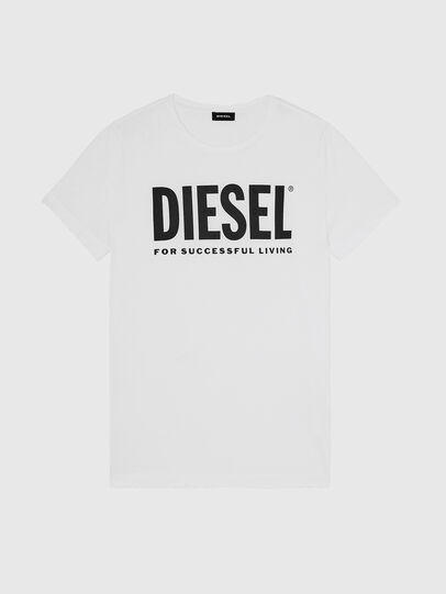 Diesel - T-SILY-WX, Bianco - T-Shirts - Image 1