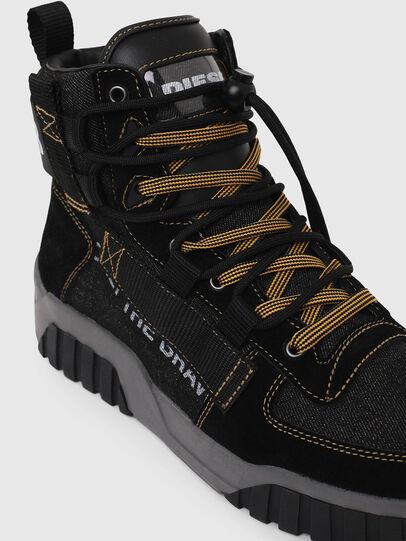 Diesel - S-RUA MID SP, Nero - Sneakers - Image 4