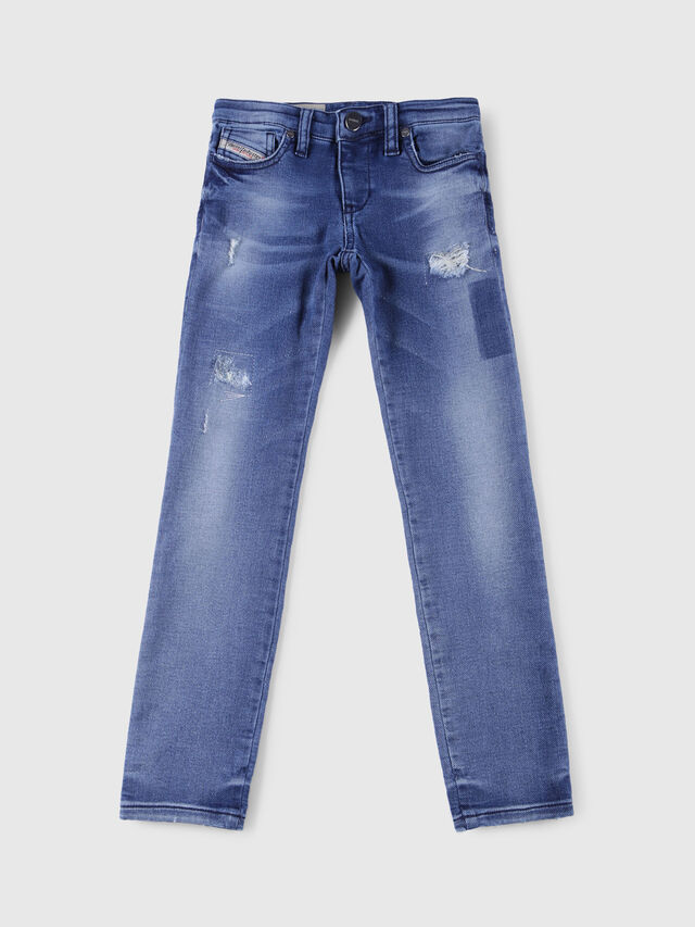 Diesel - SKINZEE-LOW-J-N JOGGJEANS, Blu Jeans - Jeans - Image 1