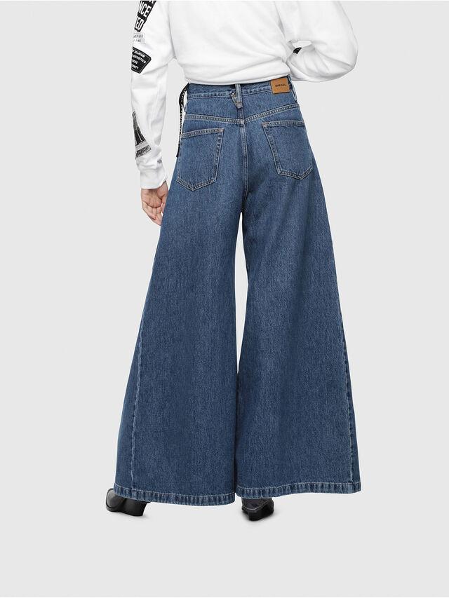 Diesel - D-Izzier 080AQ, Blu medio - Jeans - Image 2