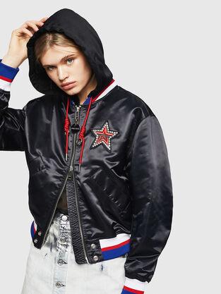 50c75fdfb1 Giacche Donna Diesel: blazer, cappotti | Diesel Online Store