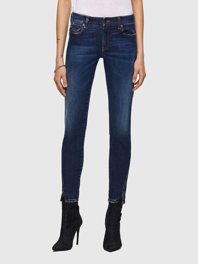Diesel - D-Jevel 09A30, Blu Scuro - Jeans - Image 1