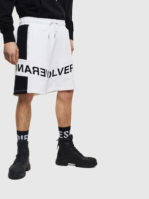 P-SHAM, Bianco/Nero - Shorts