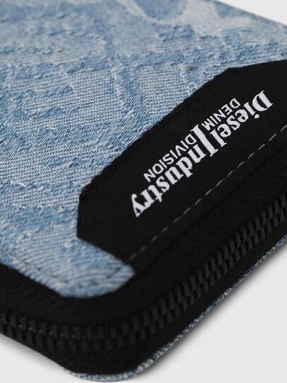 Diesel - ZIPPY HIRESH S, Blu Jeans - Portafogli Con Zip - Image 4