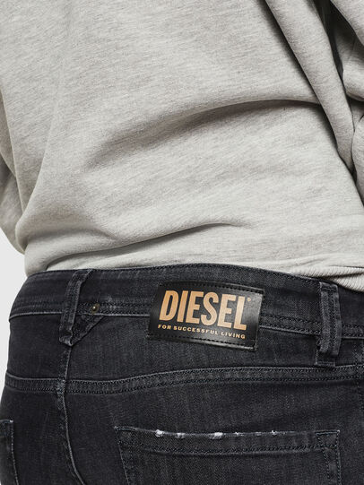 Diesel - Larkee 082AS, Nero/Grigio scuro - Jeans - Image 4