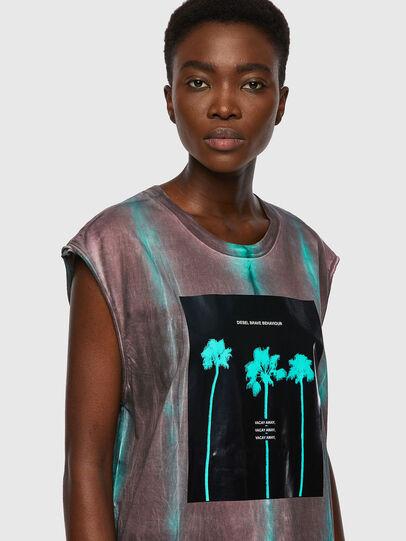 Diesel - T-ENKAVEST, Blu/Viola - T-Shirts - Image 3
