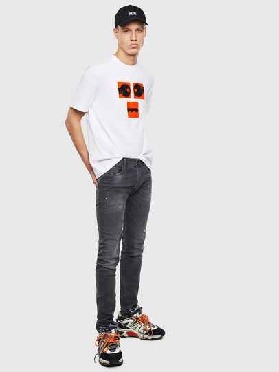 Diesel - T-JUST-T23, Bianco - T-Shirts - Image 2