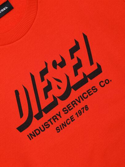 Diesel - SGIRKA74 OVER, Arancione - Felpe - Image 3