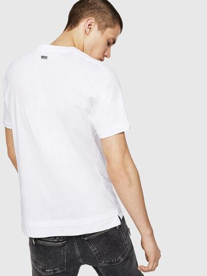 Diesel - T-CHERUBIK-NEW, Bianco - T-Shirts - Image 2