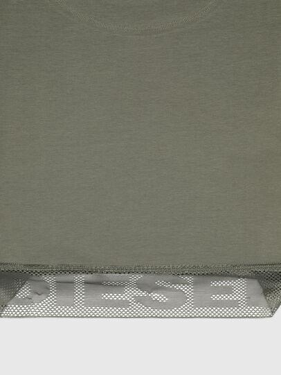 Diesel - UFTEE-GIORGMESH-SV, Verde Militare - T-Shirts - Image 3