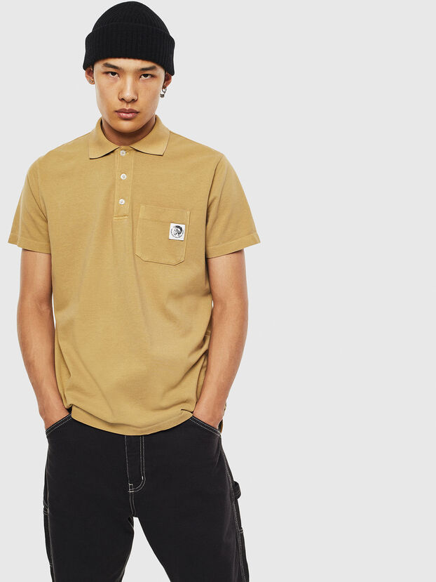 T-POLO-WORKY, Beige - Polo