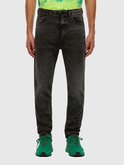 Diesel - D-VIDER JoggJeans® 009FZ, Nero/Grigio scuro - Jeans - Image 1
