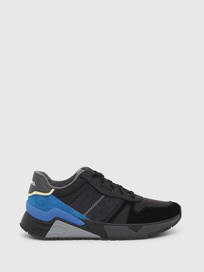 Diesel - S-BRENTHA FLOW, Nero/Blu - Sneakers - Image 1
