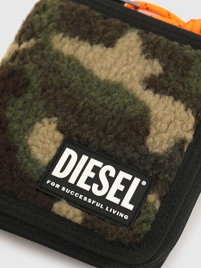 Diesel - PI-ZIP, Verde Camo - Portafogli Con Zip - Image 4