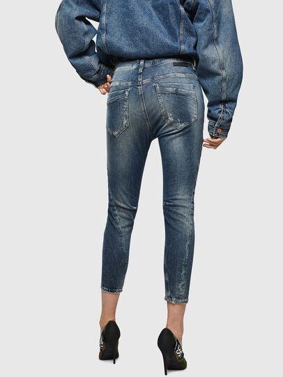 Diesel - Fayza JoggJeans 0890A, Blu Chiaro - Jeans - Image 2