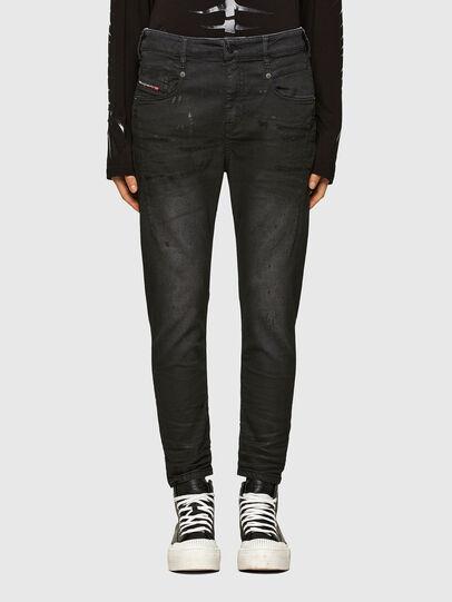 Diesel - FAYZA JoggJeans® 069QL, Nero/Grigio scuro - Jeans - Image 1