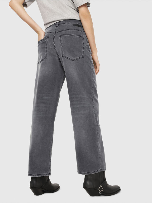 Diesel - Widee JoggJeans 069EH, Nero/Grigio scuro - Jeans - Image 2