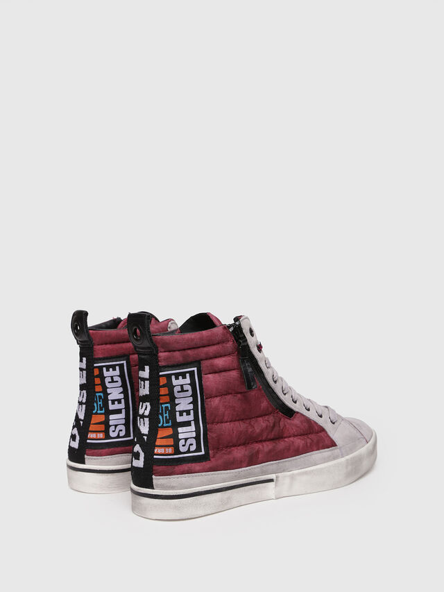 Diesel - D-VELOWS MID PATCH, Borgogna - Sneakers - Image 2