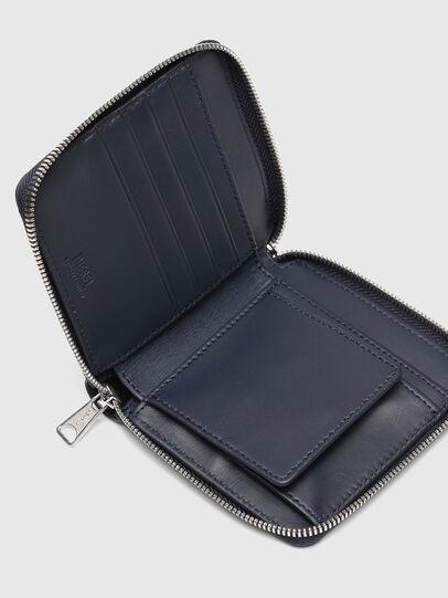 Diesel - PI-ZIP, Blu Scuro - Portafogli Con Zip - Image 4