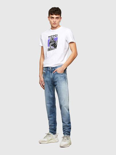 Diesel - D-Strukt 009NS, Blu Chiaro - Jeans - Image 5