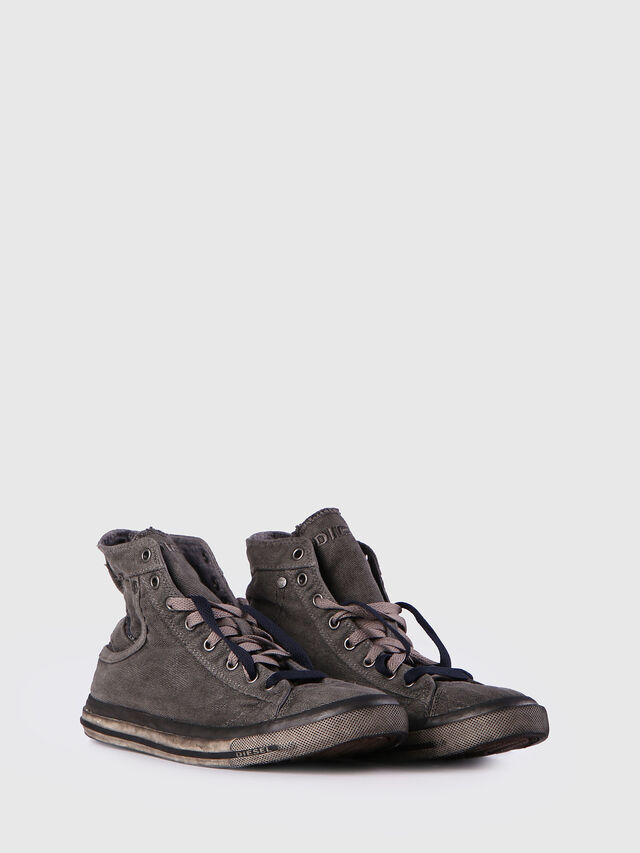 Diesel - EXPOSURE I, Grigio Metallizzato - Sneakers - Image 2