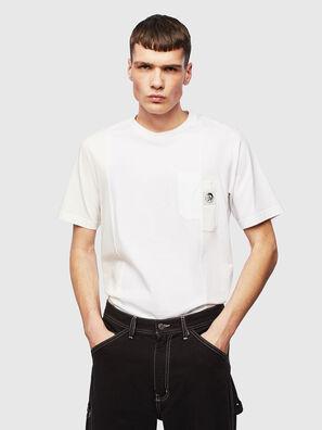 T-RISEN, Bianco - T-Shirts