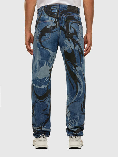 Diesel - D-Macs 0079I, Blu medio - Jeans - Image 2